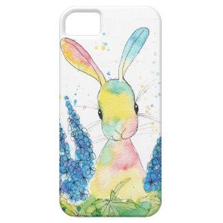 ペパーミントの芸術のヒエンソウの電話箱 iPhone SE/5/5s ケース