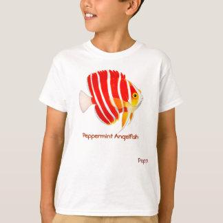 ペパーミントのAngelfishはTシャツをからかいます Tシャツ