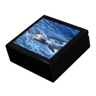 ペリカンの鳥の野性生物動物のビーチ ギフトボックス