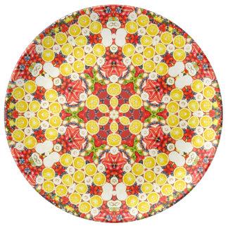 ペルシャのスタイル 磁器プレート