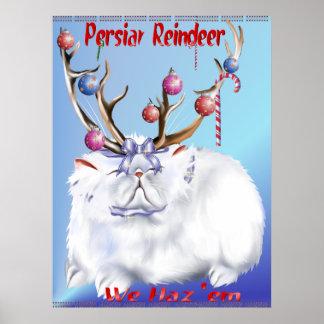ペルシャのトナカイポスター ポスター