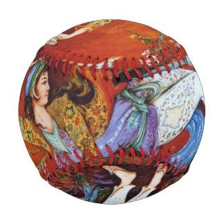 ペルシャのミニチュア踊りのニンフ 野球ボール