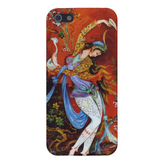ペルシャのミニチュア踊りのニンフ iPhone 5 カバー