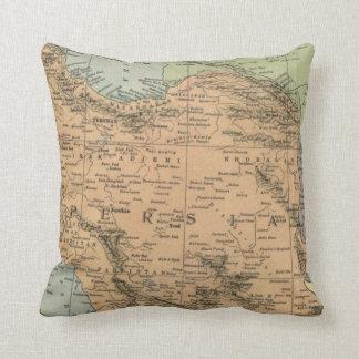 ペルシャ前に1917年の地図 クッション