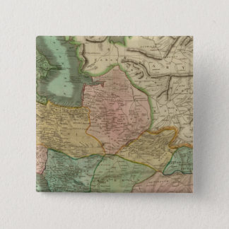 ペルシャ8 5.1CM 正方形バッジ