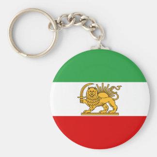 ペルシャ/イラン(1964-1980年)の旗 キーホルダー