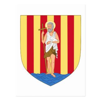 ペルピニャンの紋章付き外衣 ポストカード