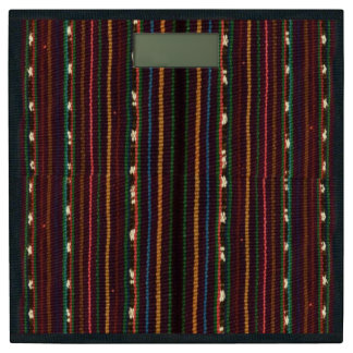 ペルーのインカ人の編むデザインは縞で飾ります 体重計