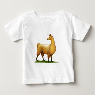 ペルーのラマ ベビーTシャツ