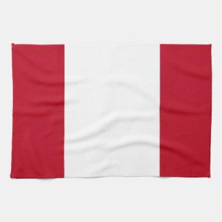 ペルーの旗 キッチンタオル
