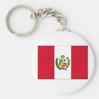 ペルーの旗 キーホルダー