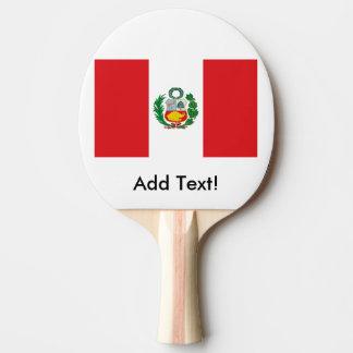 ペルーの旗 卓球ラケット