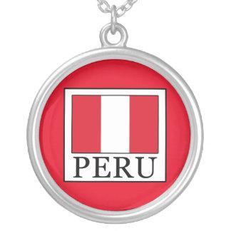 ペルー シルバープレートネックレス