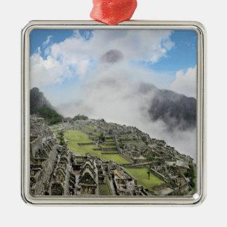ペルー、Machu Picchuの4の古代無くなった都市 メタルオーナメント