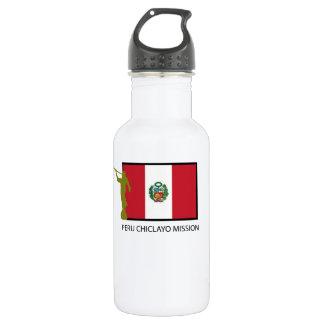 ペルーCHICLAYOの代表団LDS CTR ウォーターボトル