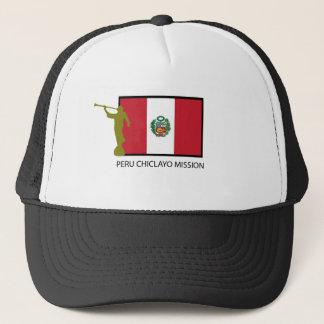 ペルーCHICLAYOの代表団LDS CTR キャップ