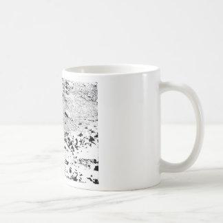 ペンとインクのプレーリードッグ コーヒーマグカップ