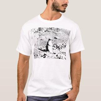 ペンとインクのプレーリードッグ Tシャツ