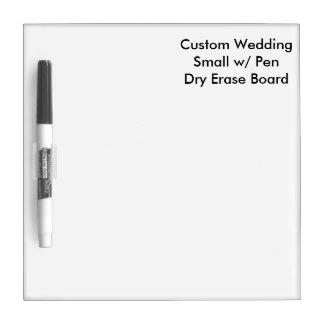 ペンのホワイトボードと小さいカスタムな結婚式 ホワイトボード