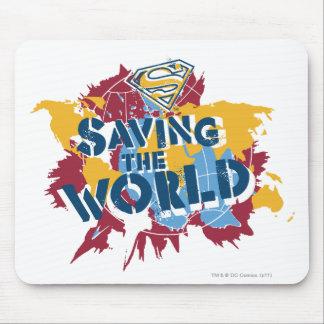 ペンキが付いている世界を救うこと マウスパッド