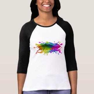 ペンキのしぶき Tシャツ