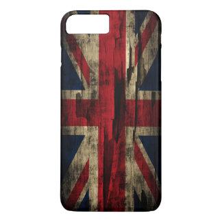 ペンキのイギリスグランジな旗 iPhone 8 PLUS/7 PLUSケース