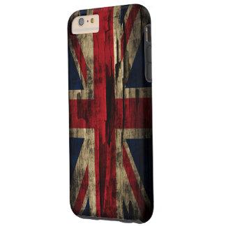 ペンキのイギリスグランジな旗 TOUGH iPhone 6 PLUS ケース