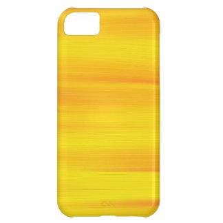ペンキのオレンジ黄色の背景 iPhone5Cケース