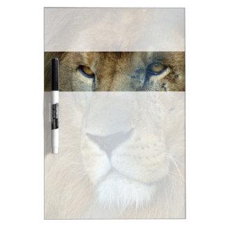 ペンキのライオン(ライオン) ホワイトボード