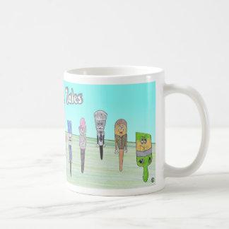 ペンキの町の物語のマグ コーヒーマグカップ
