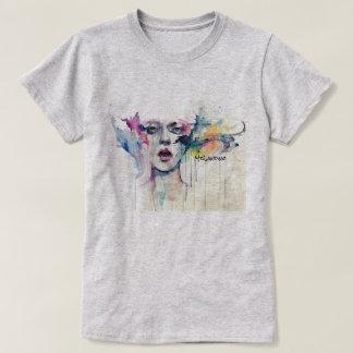 ペンキの顔 Tシャツ
