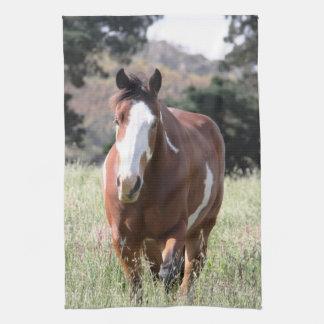 ペンキの馬のふきん キッチンタオル