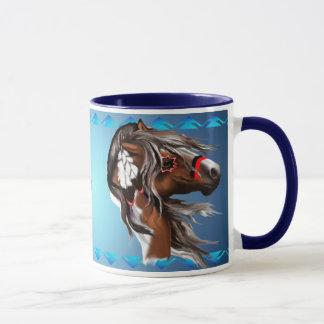 ペンキの馬のDreamcatcherのマグ マグカップ