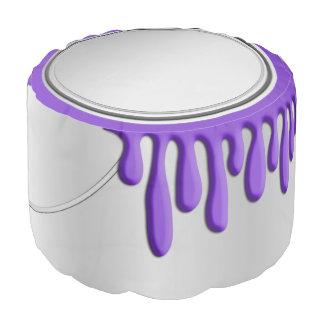 ペンキは紫色できます プーフ