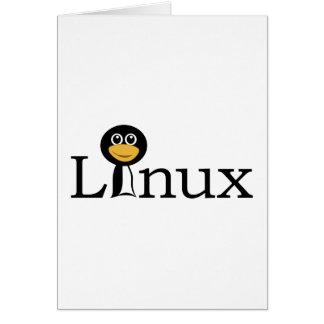 ペンギンとのLinux カード