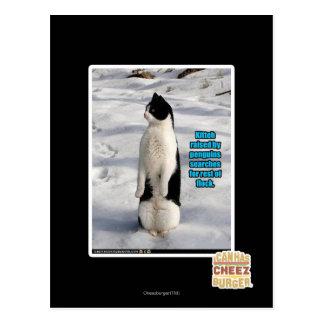 ペンギンによって上げられる ポストカード