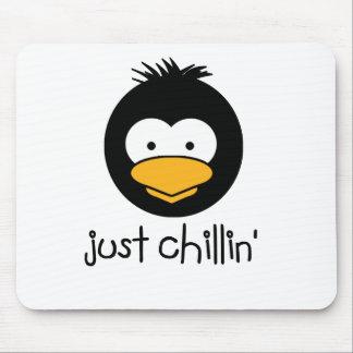ペンギンのちょうどchillin マウスパッド