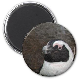 ペンギンのアートワーク マグネット