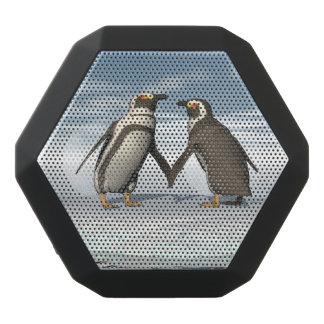 ペンギンのカップル ブラックBluetoothスピーカー