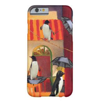 ペンギンのカフェ BARELY THERE iPhone 6 ケース