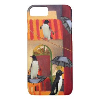 ペンギンのカフェ iPhone 8/7ケース