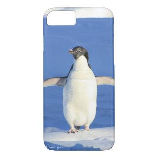 ペンギンのギフト愛して下さい iPhone 8/7ケース