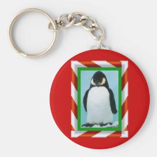 ペンギンのクリスマス キーホルダー