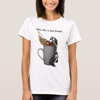 ペンギンのティーブレイク Tシャツ