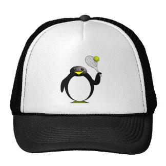 ペンギンのテニス トラッカーハット