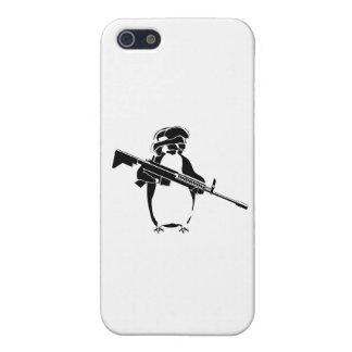 ペンギンの兵士 iPhone SE/5/5sケース