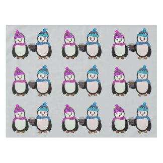ペンギンの友人のテーブルクロス テーブルクロス