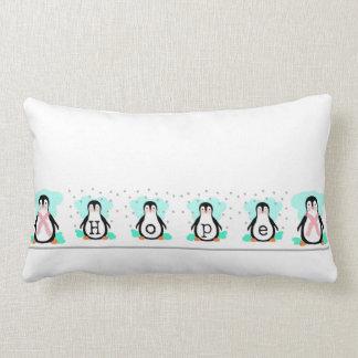 ペンギンの希望のLumbarの枕 ランバークッション