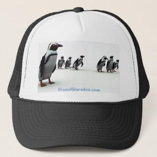 ペンギンの整列 キャップ