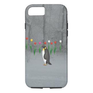 ペンギンの春の歩行 iPhone 8/7ケース